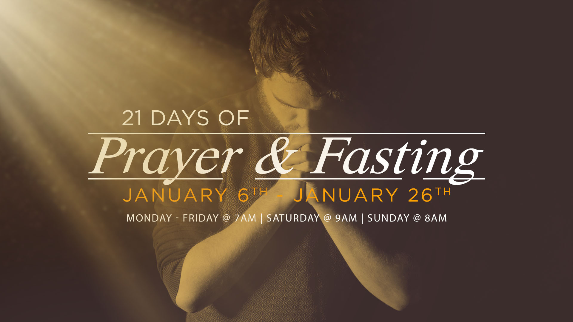 21 Days of Prayer & Fasting 2020